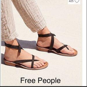 NWT Free People Landings Asymmetric Sandal